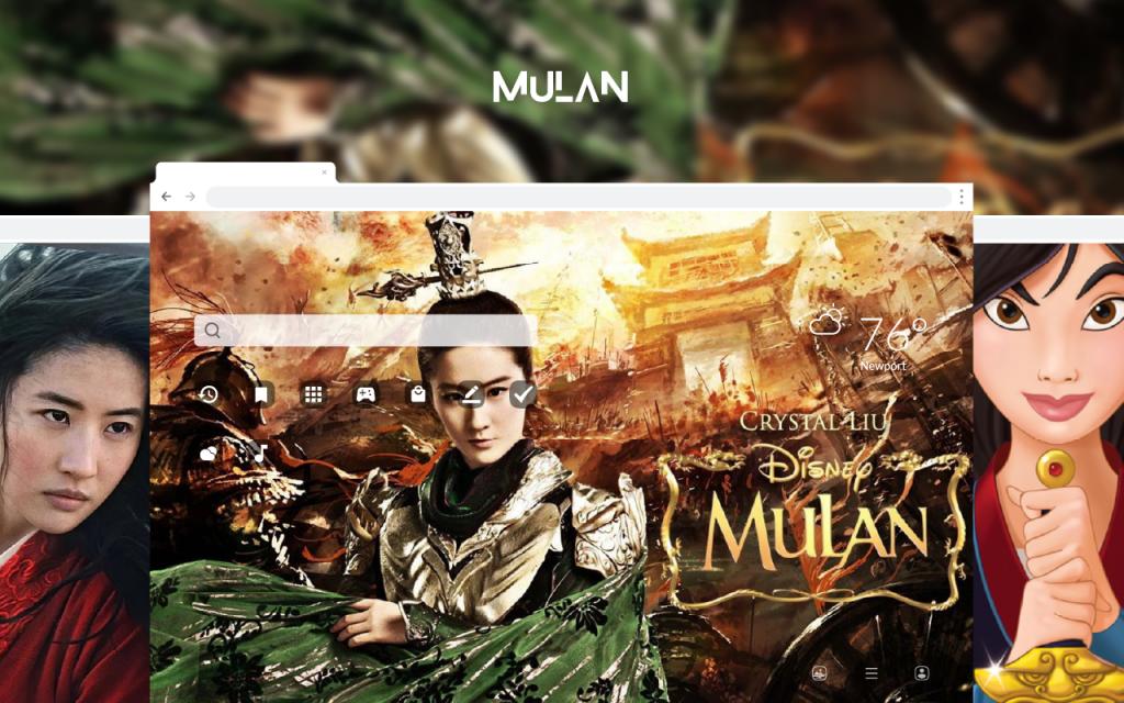 Mulan HD Wallpapers New Tab