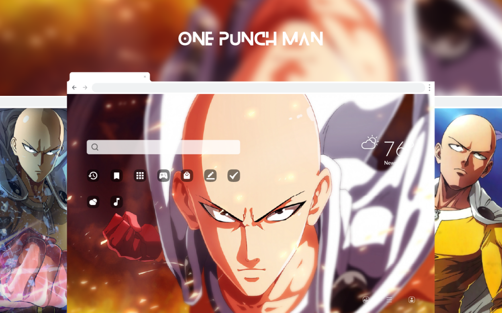 One Punch Man HD Wallpapers New Tab