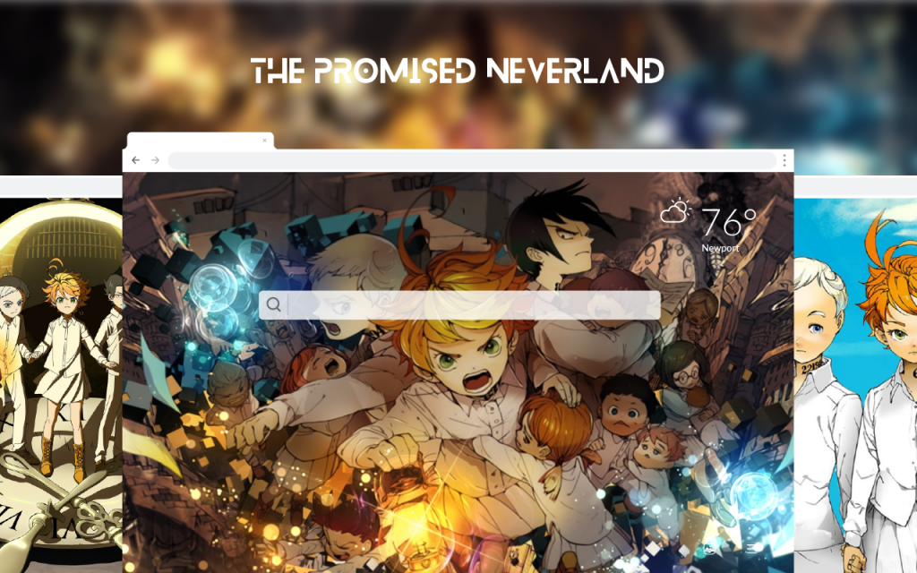 The Promised Neverland HD Wallpapers New Tab