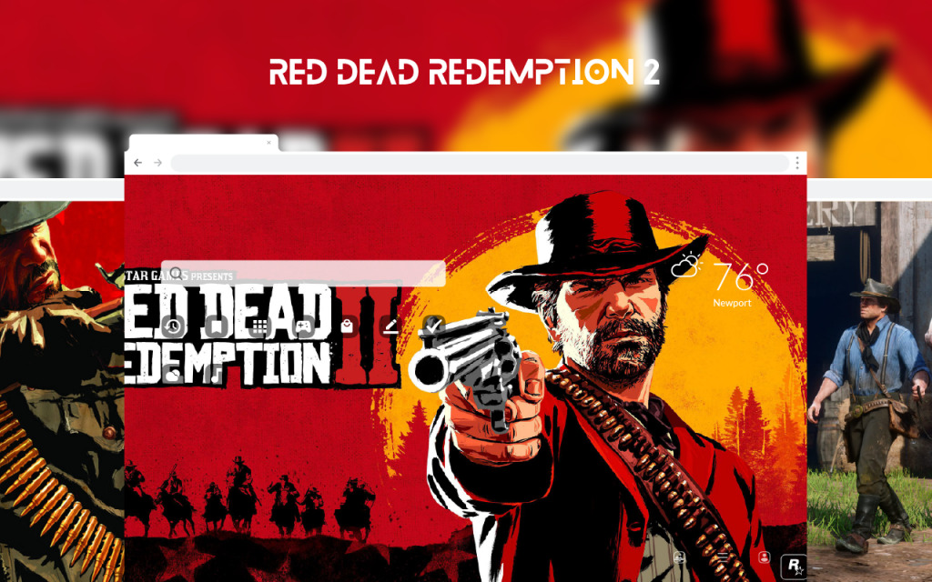 Red Dead Redemption 2 HD Wallpapers New Tab
