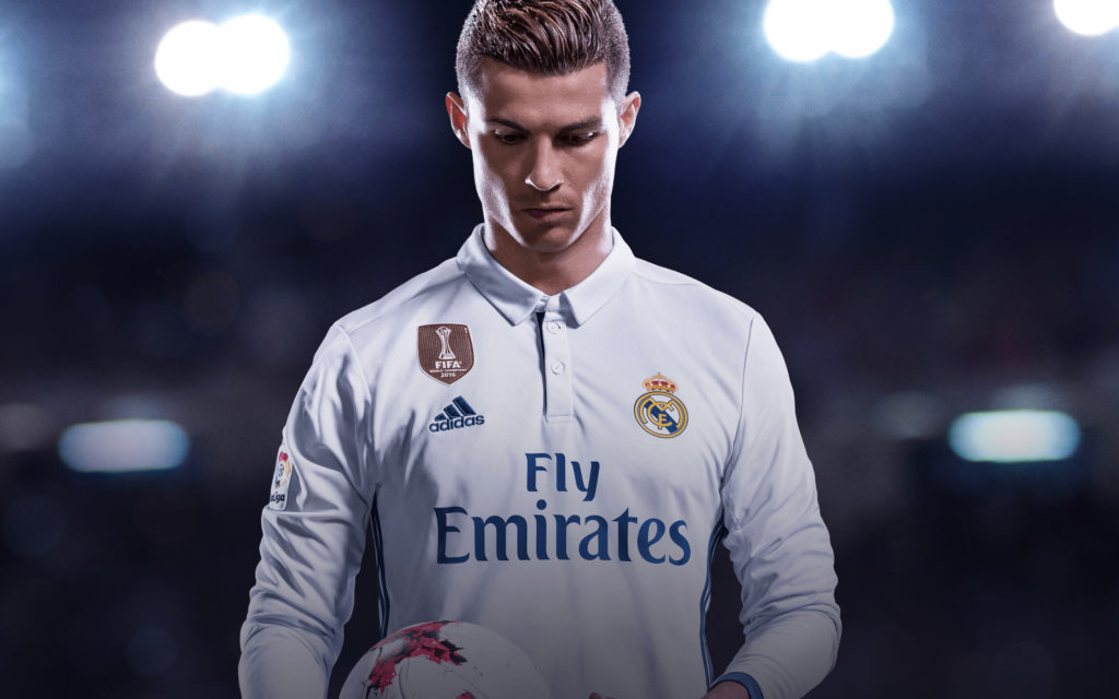 Cristiano Ronaldo HD Wallpaper Theme