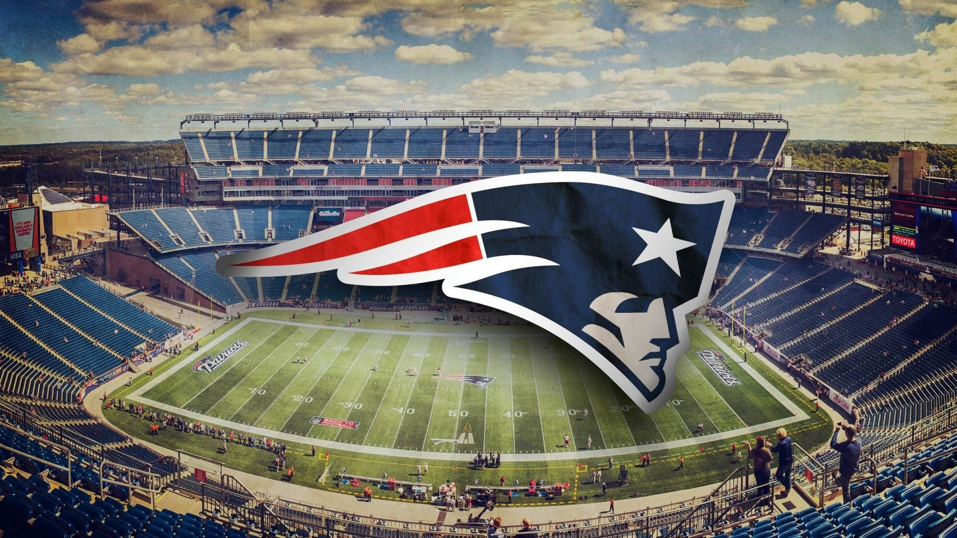 New England Patriots NFL HD Wallpaper New Tab