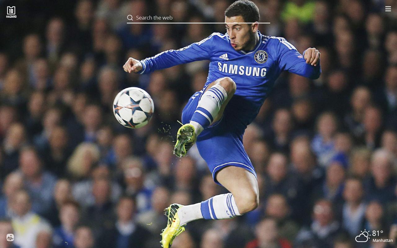 Eden Hazard Hd Wallpapers New Tab Theme Sports Fan Tab
