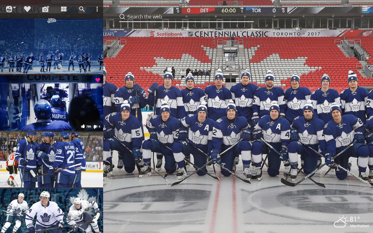 hockey team Toronto Maple Leafs
