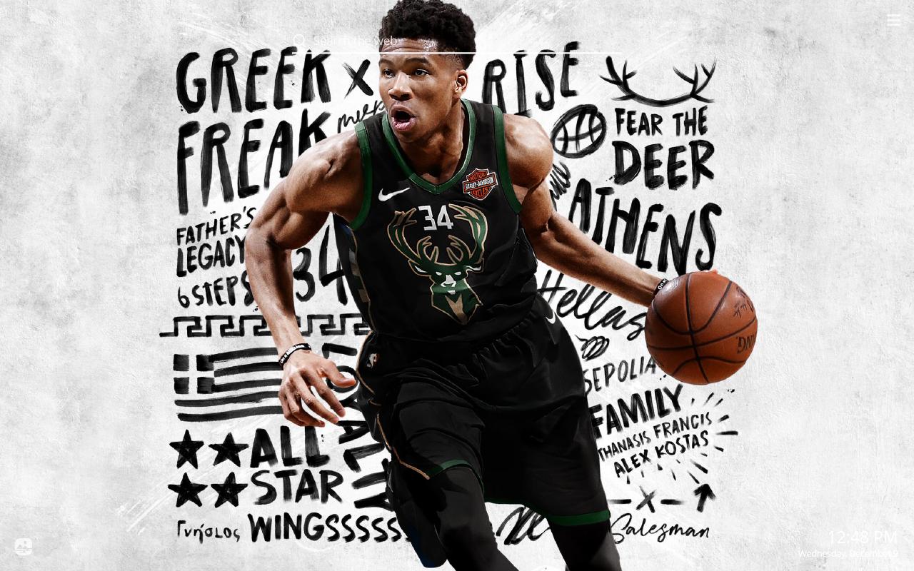 Milwaukee Bucks Hd Wallpaper New Tab Theme Sports Fan Tab