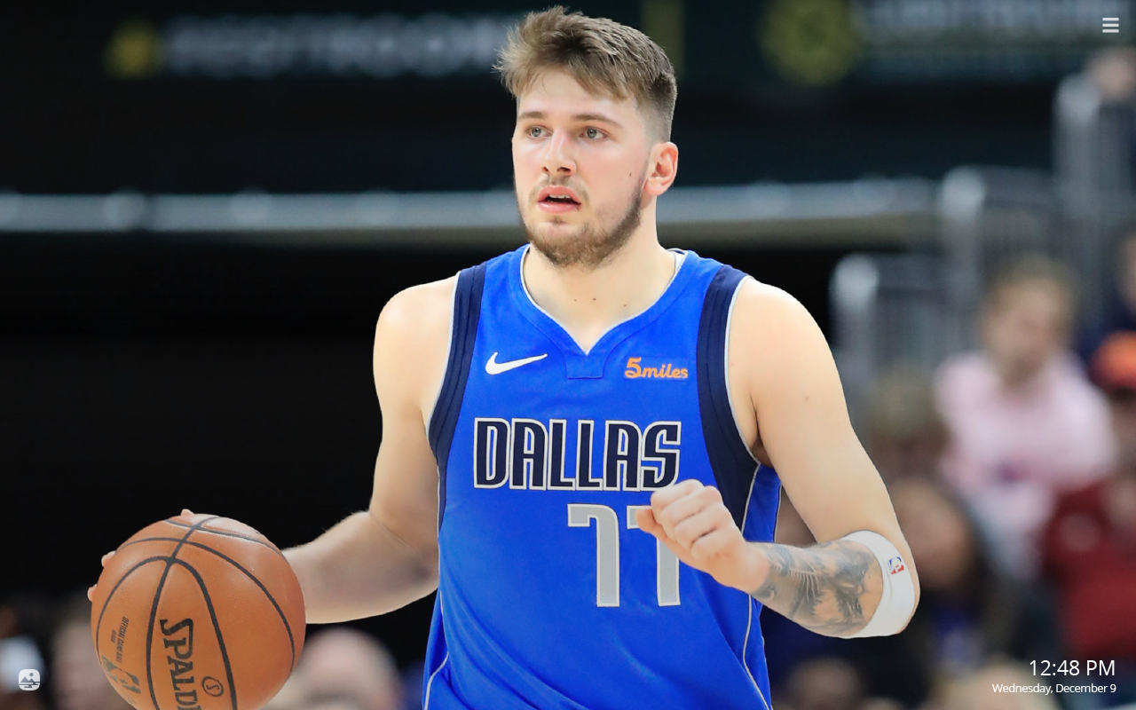 Luka Doncic Hd Wallpapers New Tab Theme Sports Fan Tab