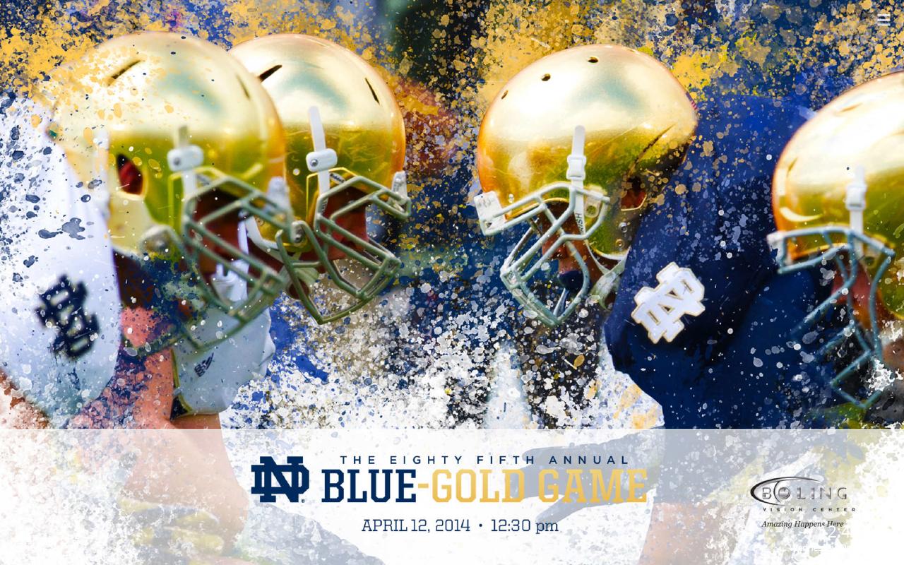 Notre Dame Fighting Irish Football Hd New Tab Sports Fan Tab