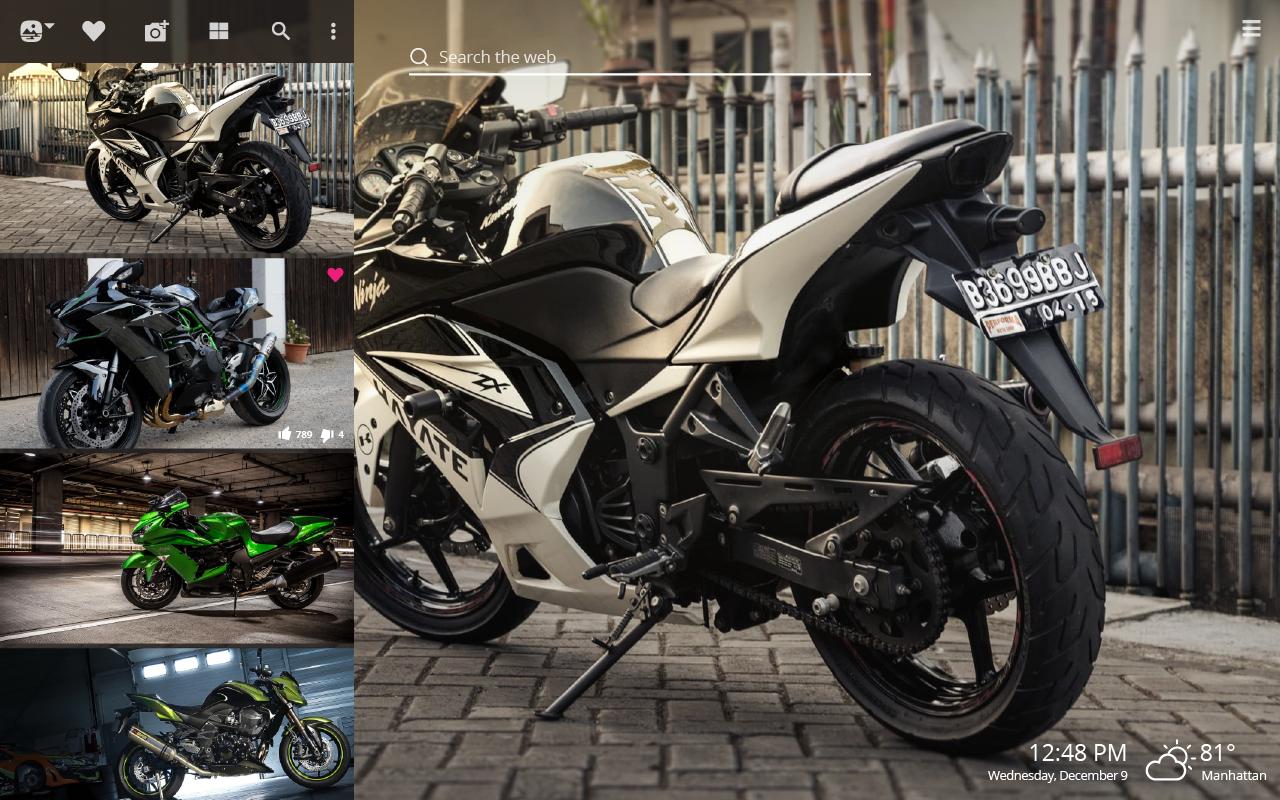 Kawasaki sport bikes