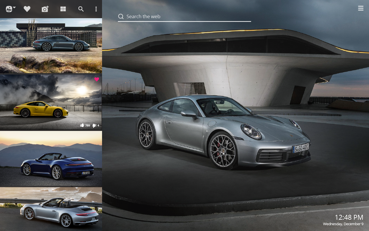 Porsche Carrera car
