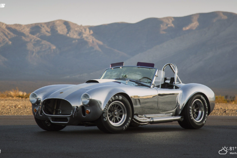 shelby cobra car