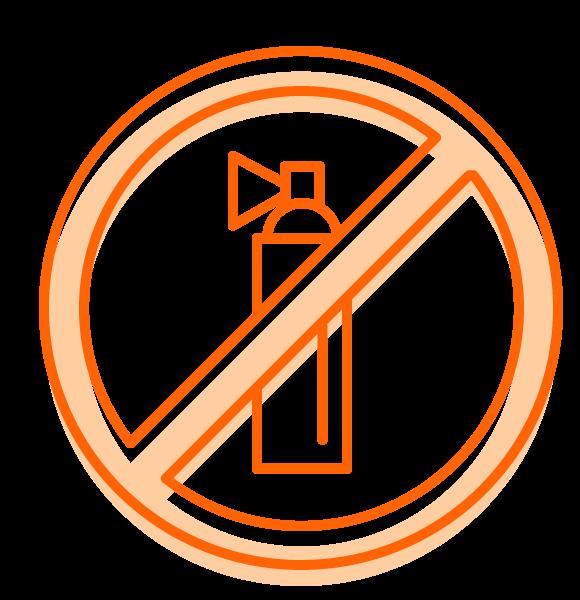 Flame retardants icon