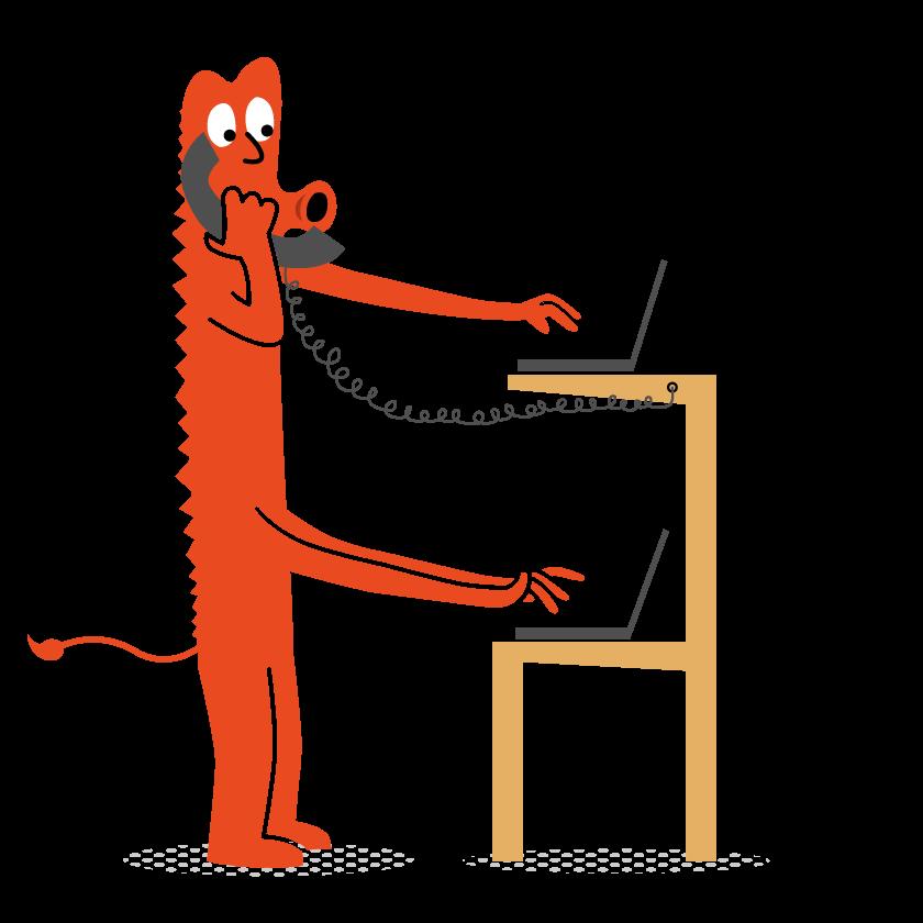 Standup desk monster
