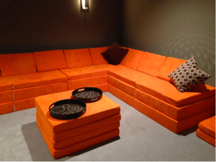 This Transforming Foam Couch Is Truly No Assembly