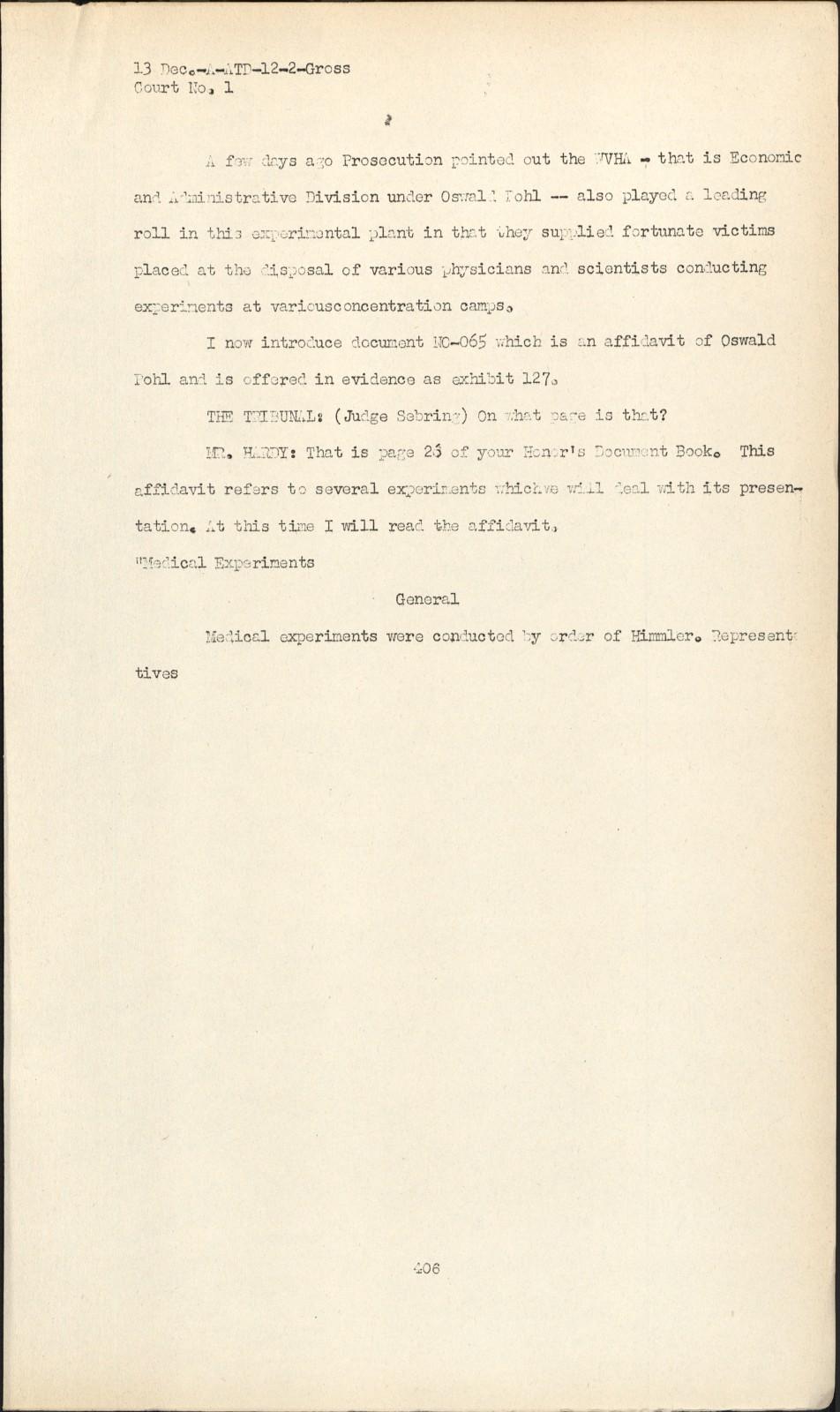 Nuremberg - Transcript Viewer - Transcript for NMT 1