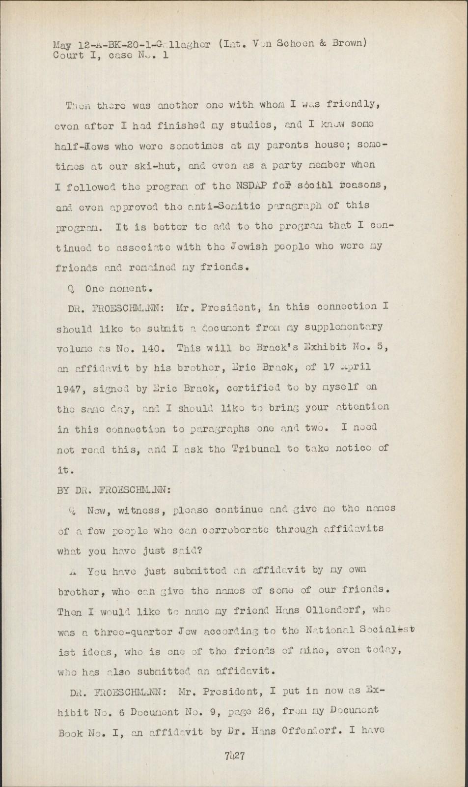 Nuremberg - Transcript Viewer - Transcript for NMT 1: Medical Case