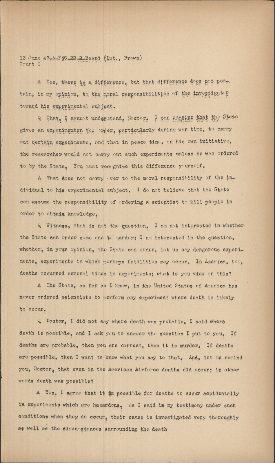 Nuremberg - Transcript Viewer - Transcript for NMT 1 ...