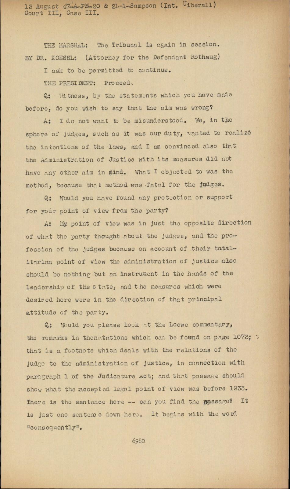 Nuremberg - Transcript Viewer - Transcript for NMT 3
