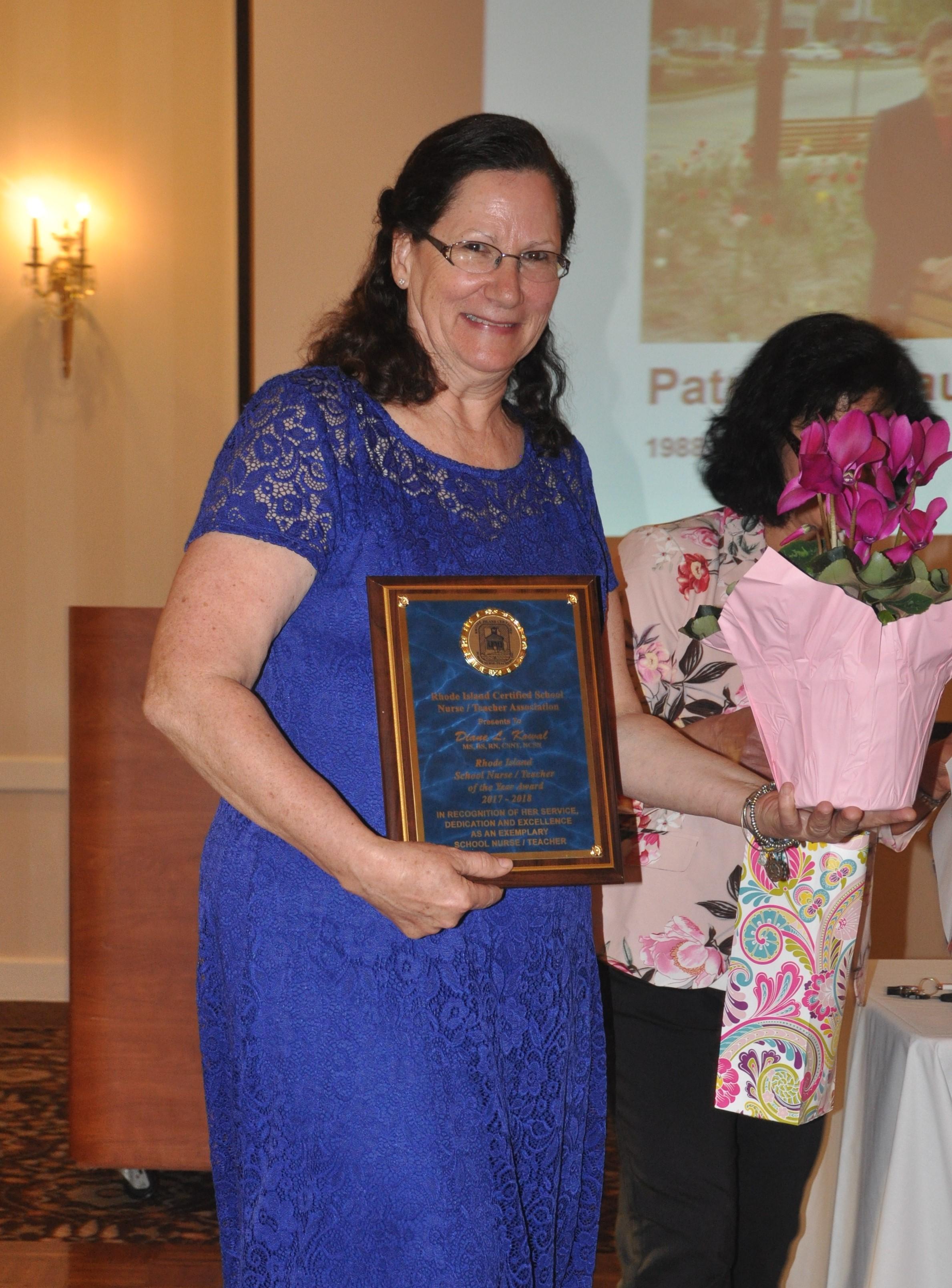 Congratulations To Diane Kowal Ricsnta 2018 School Nurse Teacher Of