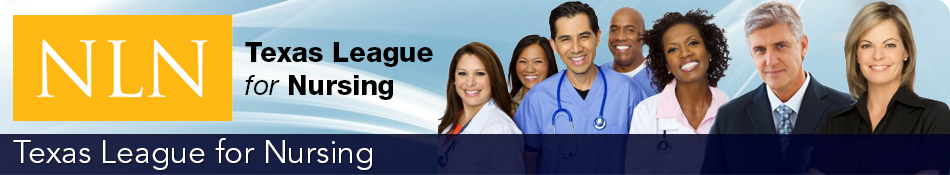 Texas league for nursing header