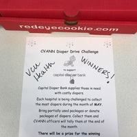 Diaper Drive Reward - Red Eye Cookies!