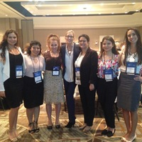 Chapter Members with Author and producer of documentary 'The American Nurse' and key note speaker Carolyn Jones.