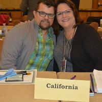 ASPAN Assembly Representatives, Kevin & Karen