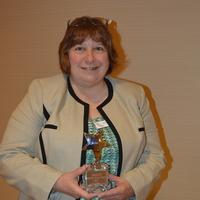 Lori Silva, PANAC President accepts Shinning Star