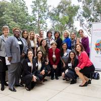 UCLA Chapter Board with Leadership Symposium Speakers