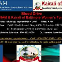 Blood Drive On September 9th, 2017