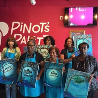 MSBNA FundRaiser 10/21/17@Pinot's Palette So Plainfield, NJ