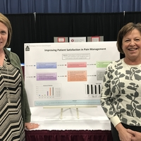 Ginny & Mallory presenting about patient satisfaction in pain management at the 2017 Maine Nursing Summit in Augusta!