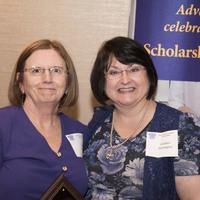 Excellence in Mentorship award winner, Ann Schreier