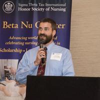 The keynote speaker, Dr. Eric Hodges