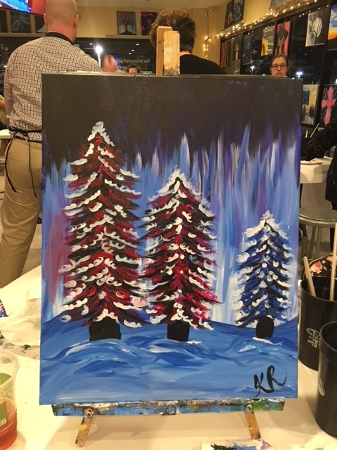Painting With A Twist December 2017 Photo Galleries The Central