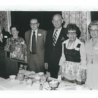 Left to Right Dr Deery, Mary Keune, John Flynn JD, Dorothy Hoadley, Helen Pasch