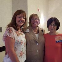 Becky Smeltzer, Joy Buck and Barb Mulich 2015