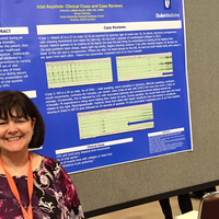 Debbie's poster at 2015 National Conference
