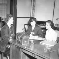 Public health nurse, 1944