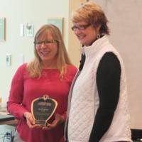Lisa Rodriguez Medique Leadership Award winner