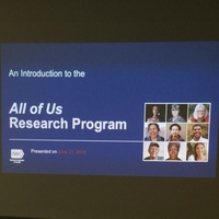 All of Us Research Program Education Dinner