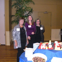 Kathleen Hale, Jamilynne Myers, and Ann Purchase