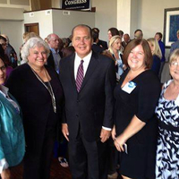 Governor Tomblin with WVNA board and staff.