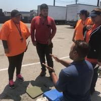 Sidewalk CPR with Torrance Fire Dept 06/18