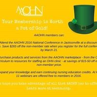 AAOHN Benefits