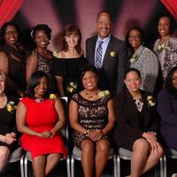 NERBNA 28th Excellence in Nursing Awardees;  Top Left to Right: Sasha DuBois, Monica Smith, Guilna Alce, Herminia Shermont, Robert Brayboy, Tarma Johnson, Colby Bowden, and Rev. Veronica Clarke-Tasker.