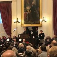 Governor Scott delivering his proposed budget