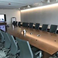 A picture of the main board room at National