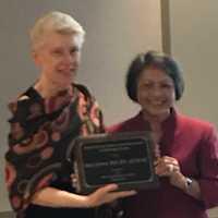 Mary Schira receives Lifetime Achievement Award