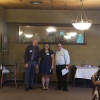 2019 Ethel Muhs Award winner Erin Wright!