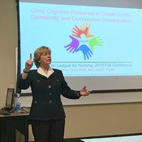 Dr. Cindy Clark  Afternoon Workshop session